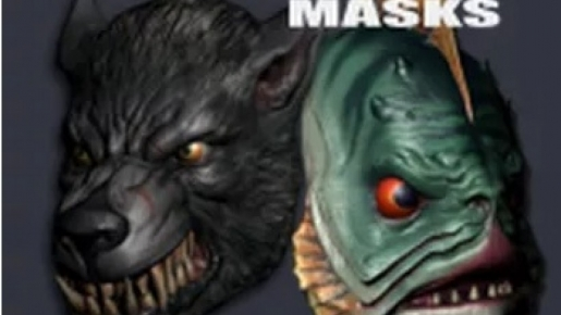 PAYDAY 2 - Lycanwulf and The One Below Masks