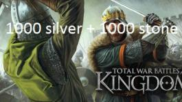 Total War Battles: KINGDOM – 1000 Silver & 1000 Stone