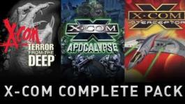 X-COM: Complete, Civilization V: G & Kings and 2 MPacks