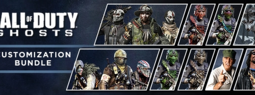 Call of Duty Ghosts Customization Bundle